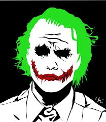 tutorial gambar joker joker by keeji d on deviantart