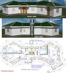 house plan earthbag construction in uganda natural building blog
