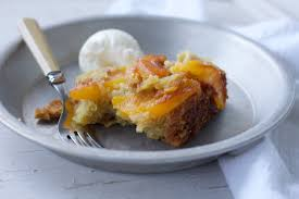 dutch oven upside down peach cake a bountiful kitchen