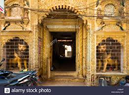 traditional house varanasi uttar pradesh india asia stock