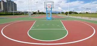 Outdoor Basketball Court Cost Estimate by Basketball Court Construction Sport Surfaces Miami Florida