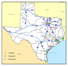 Dallas Fort Worth Area Map by Corsicana Tx Official Website Transportation Access