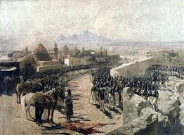 fortress siege file capture of erivan fortress by russia 1827 by franz roubaud