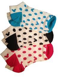 socks for mickey mouse icon disney world 3 pk