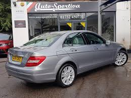used mercedes c class used 2011 mercedes benz c class c220 cdi blueefficiency ivory