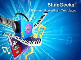 music powerpoint presentation slides powerpoint templates
