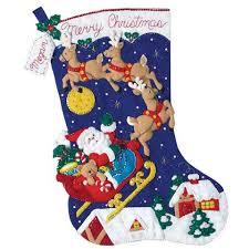 bucilla kits bucilla christmas jumbo felt sequin