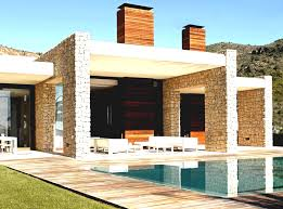 awesome black grey brown wood glass modern design minimalist house