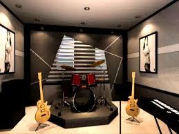 bedroom glamorous diy music room decor note black and white