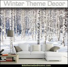 Winter Wonderland Themed Decorating - winter theme decorating ideas theme bedroom decorating ideas