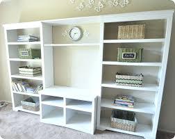 Bookshelf Entertainment Center Bookcase Billy Bookcase Media Center Built In Bookcase Media