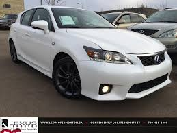 lexus ct200h used car lexus certified pre owned white 2012 ct 200h fwd hybrid f sport
