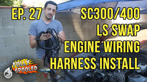 lexus sc300 starter lexus sc drift build ep 27 engine wiring harness pcm starter
