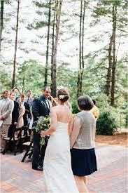julia u0026 mark heartfelt wedding in the woods at the pavilion at