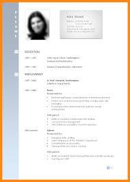 Examples Of Resumes 8 Sample Curriculum Vitae For Job by 8 Example Of Curriculum Vitae Format Graphic Resume