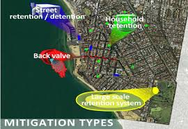 location canap fig 6 modular mitigation types and location around elwood canal