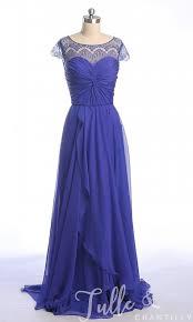 purple lace bridesmaid dress bateau neck lace cap sleeves chiffon and lace bridesmaid dress tbqp303