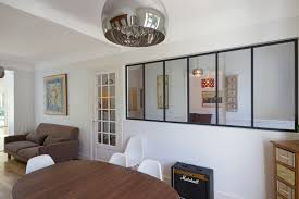 separation cuisine style atelier vitre separation cuisine cloison type atelier sparation