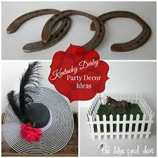 the blue eyed dove kentucky derby decor ideas the blue