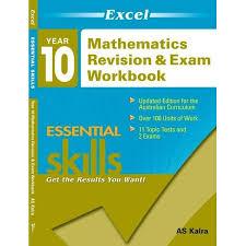 booktopia excel essential skills maths revision u0026 exam workbook