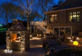 Where To Place Landscape Lighting Outdoor Living Fireplace Pit Landscape Lighting