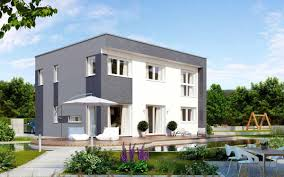Kampa Haus Kubos 1 1740 Puristisches Flachdachhaus Kampa Haus Fertighaus