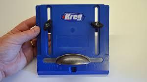 kreg cabinet hardware jig installing knobs and pulls with the kreg cabinet hardware jig az