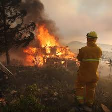California Wildfires San Diego by Firefighters Continue To Battle Wildfires In San Diego Photos