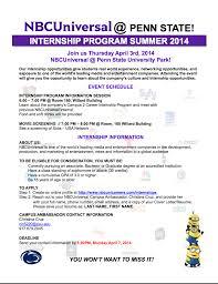 Summer Entertainment Internships - nbc universal summer internship opportunities liberal arts blog