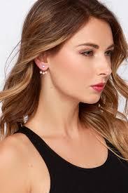 earring jacket pearl earring jackets gold earring jackets 12 00