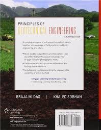 principles of geotechnical engineering braja das khaled sobhan
