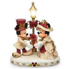 figurine mickey minnie mouse light up