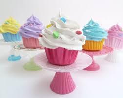 ornaments set of 5 mini cupcakes