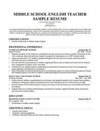 resume template for teachers teacher resume template for ms word