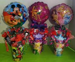balloon and candy bouquets themed children s candy bouquets 20 each candy bouquets