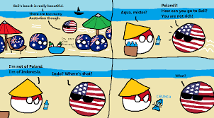 Indonesian Meme - bali of indonesia polandball