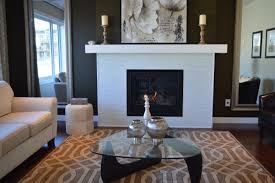 fireplace makeover tips just in time for fall curbappeal house