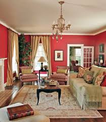 red living rooms design ideas decorations photos living room seems all set for holiday season festivities design dona rosene interiors