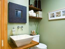 utilize spaces with creative shelves sage green walls small