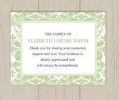 sympathy card wording thank you card wording thank you card after funeral sympathy