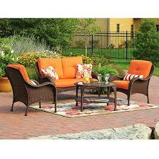 Wicker Patio Chairs Walmart Amazing Walmart Outdoor Wicker Furniture For Lake Island