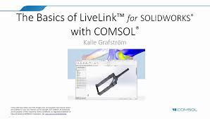 introduction to livelink for solidworks in 18 minutes