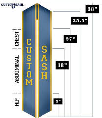 custom graduation sashes faq