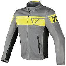 perforated leather motorcycle jacket leather motorcycle jacket dainese model blackjack yellow smoke