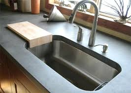 stainless steel countertop with built in sink stainless steel sinks and countertop powncememe com
