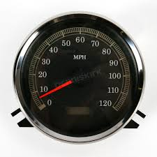 drag specialties electronic speedometer 2210 0104 harley