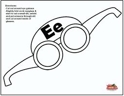 letter e crafts week 5 e