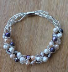 easy pearl bracelet images Serendipity by monya flora handmade pearl bracelet bridal jpg