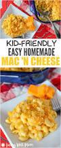 kid friendly easy homemade mac and cheese recipe living well mom