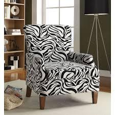 zebra accent chair u2014 clayton design decorating zebra accent